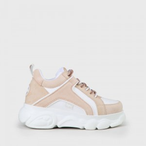 Black Friday Buffalo 2020 - BUFFALO CLD Corin Sneaker beige/white